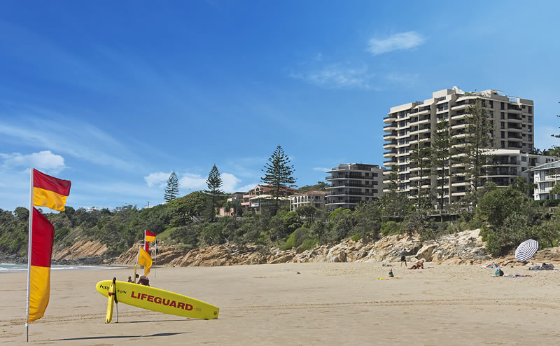 Coolum Beach Beachfront holiday apartments