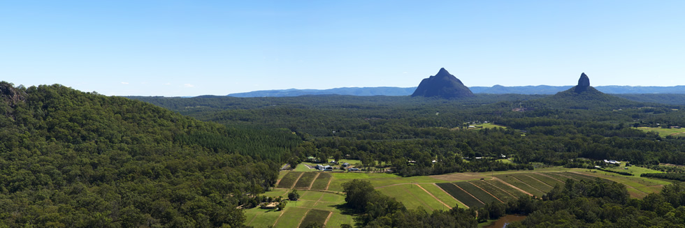 Sunshine Coast Glasshouse Mountains