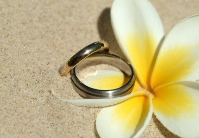 Coolum Beach wedding vows