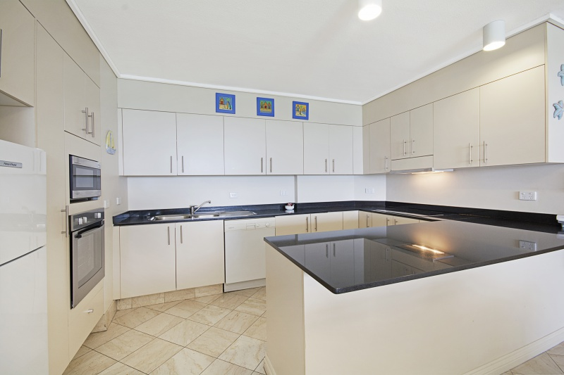 Self Contained kitchen at Coolum Beach