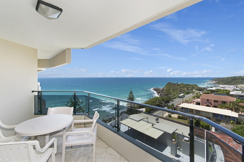 Coolum Beach balcony View from Unit 62